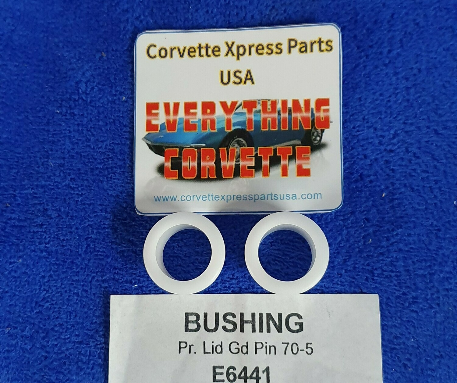 BUSHING-REAR DECK LID GUIDE PIN-PAIR-70-75 (#E6441)