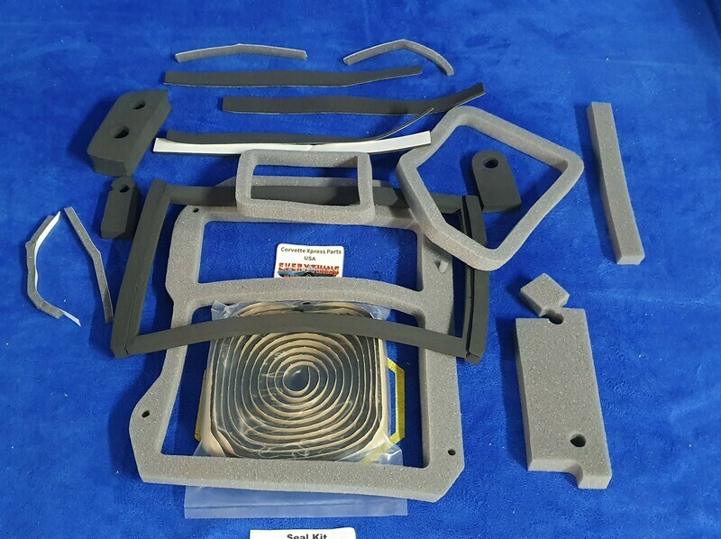 SEAL KIT-HEATER BOX-WITH AIR CONDITIONING-78-82 (#E5841)