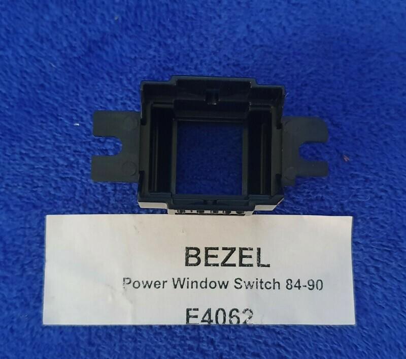 BEZEL-POWER WINDOW SWITCH OR DOOR LOCK-84-90 (#E4062) 5A3