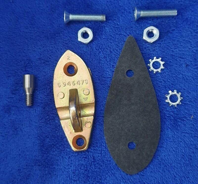 MOUNTING KIT-EXTERIOR REAR VIEW MIRROR-USA-53-62 (#E18543) 5A5