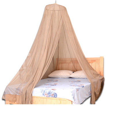 EMF Protection Double Bed Size Silver Mesh Fabric Canopy Mosquito Net