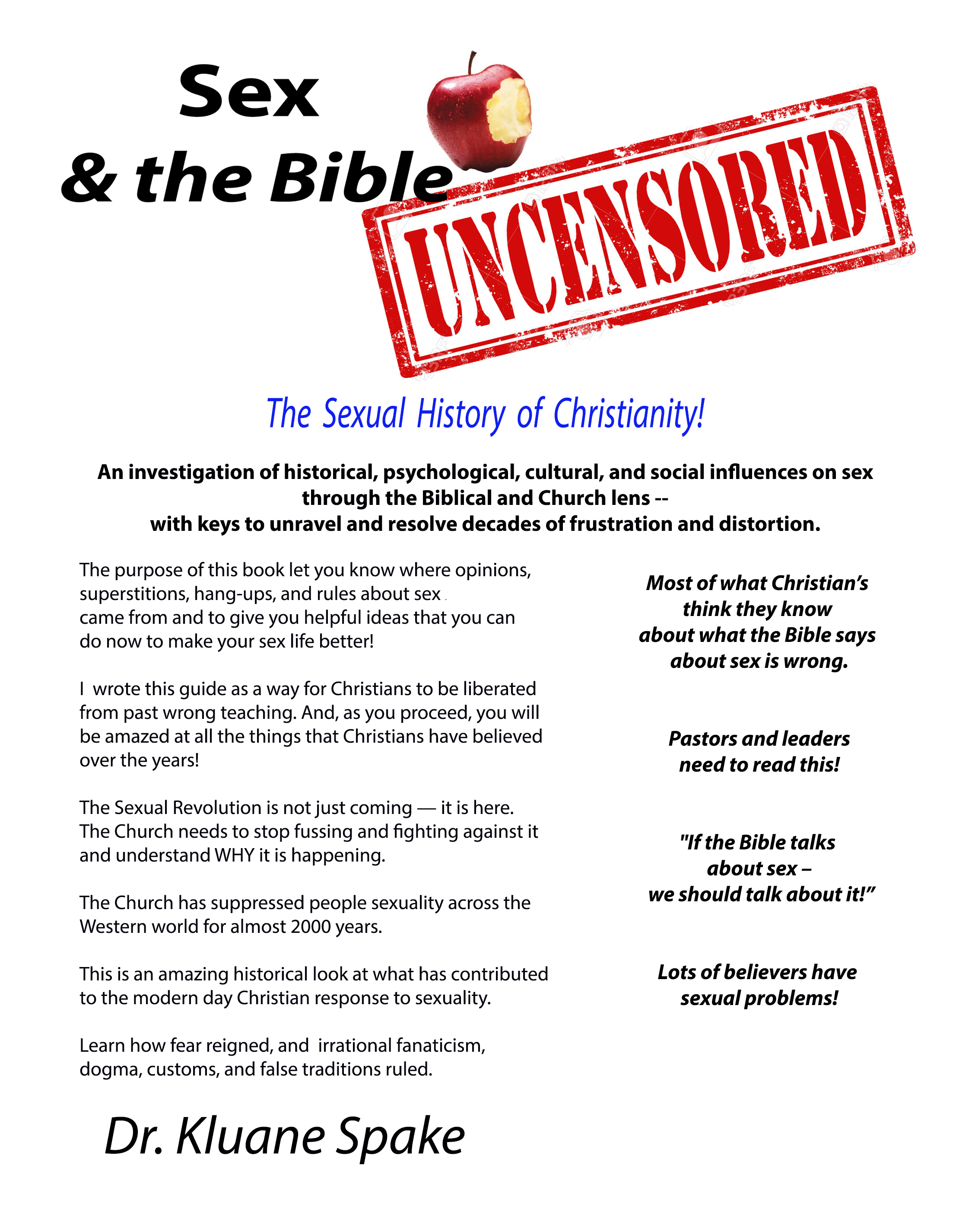 SEX and the Bible - Uncensored -