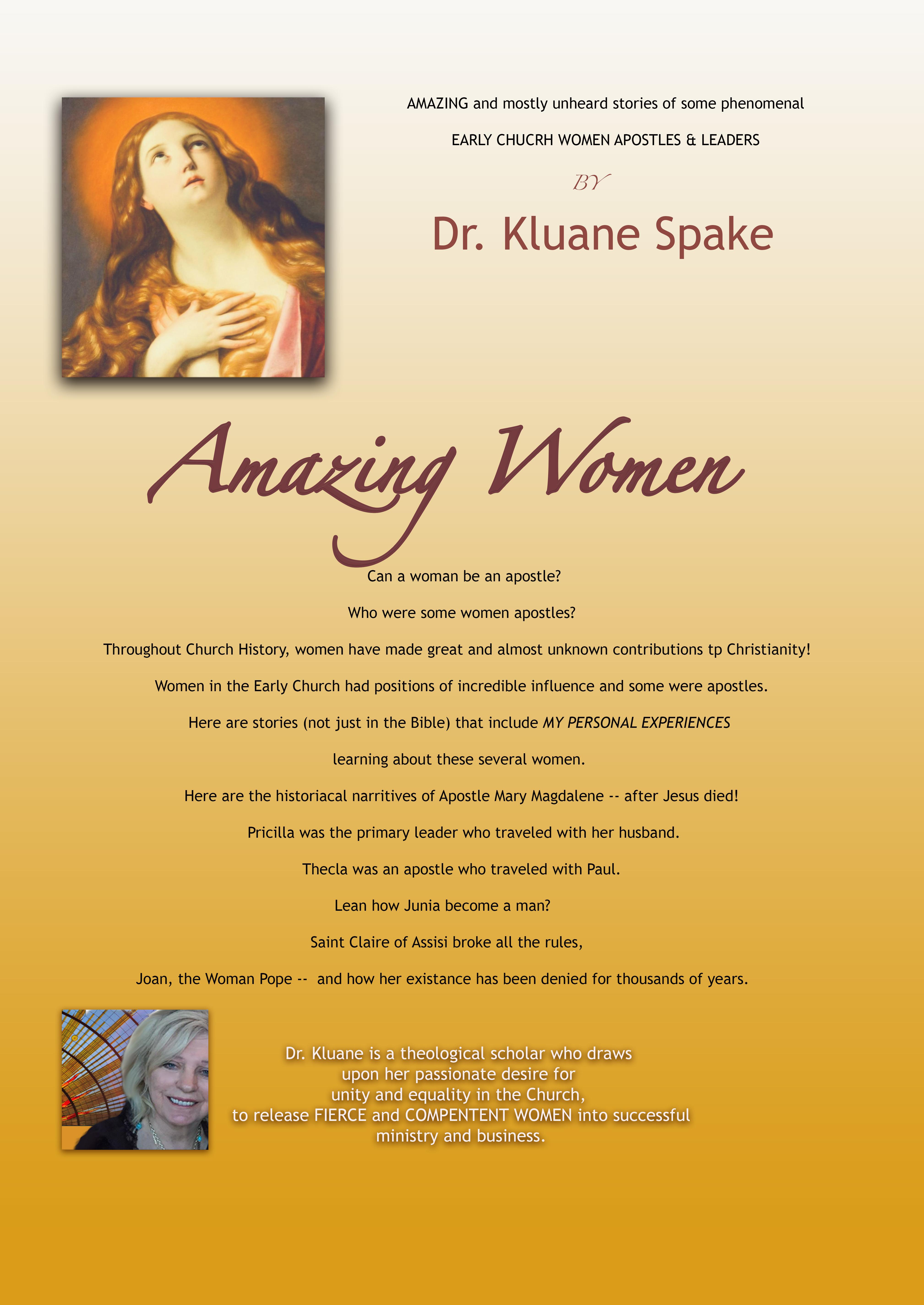 Amazing Apostolic Women - E-BOOK