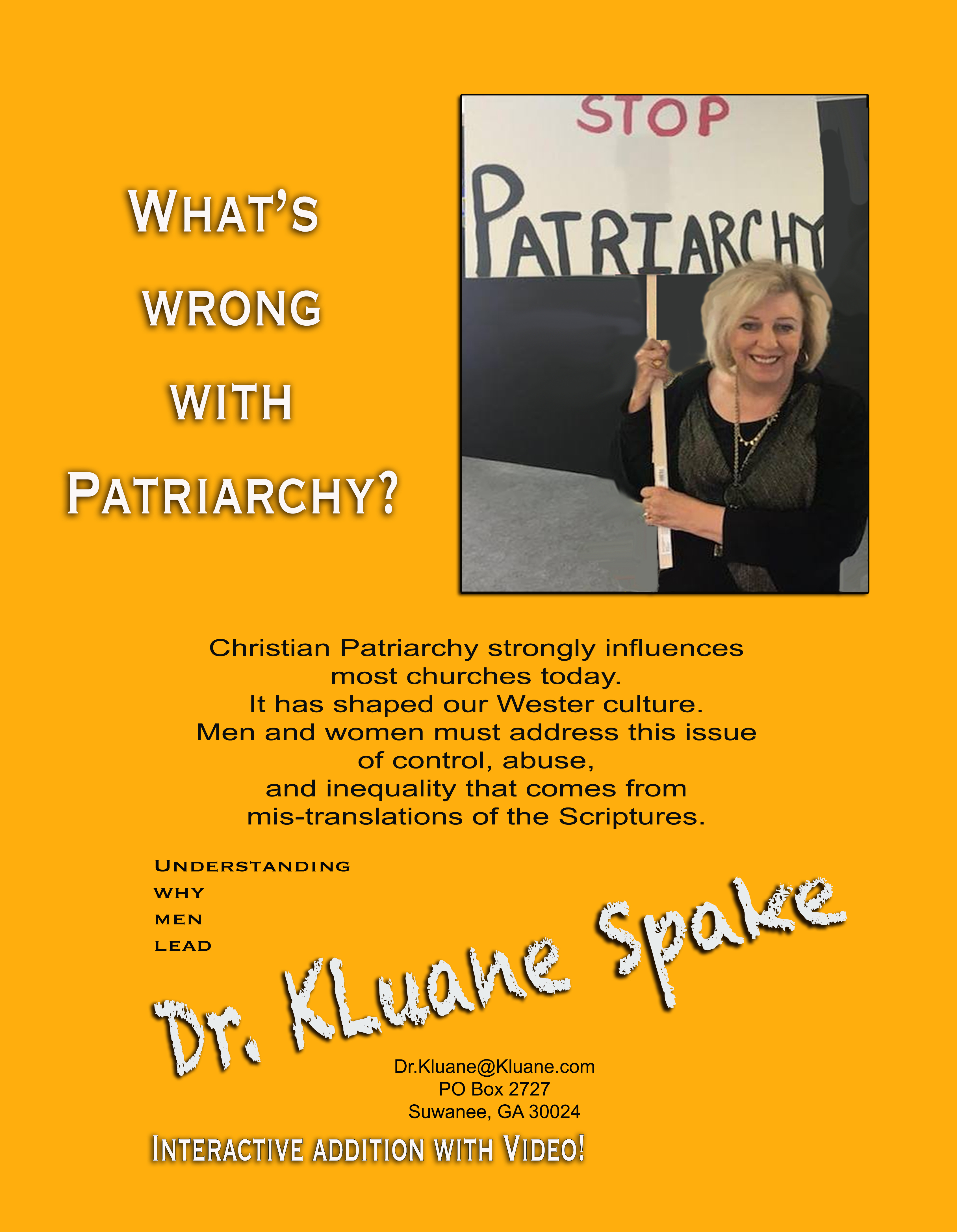 What's Wrong with Patriarchy - E-book