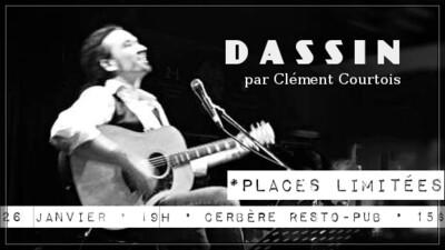 [Prévente] Hommage Dassin - Cerbère (26 janvier 2020)