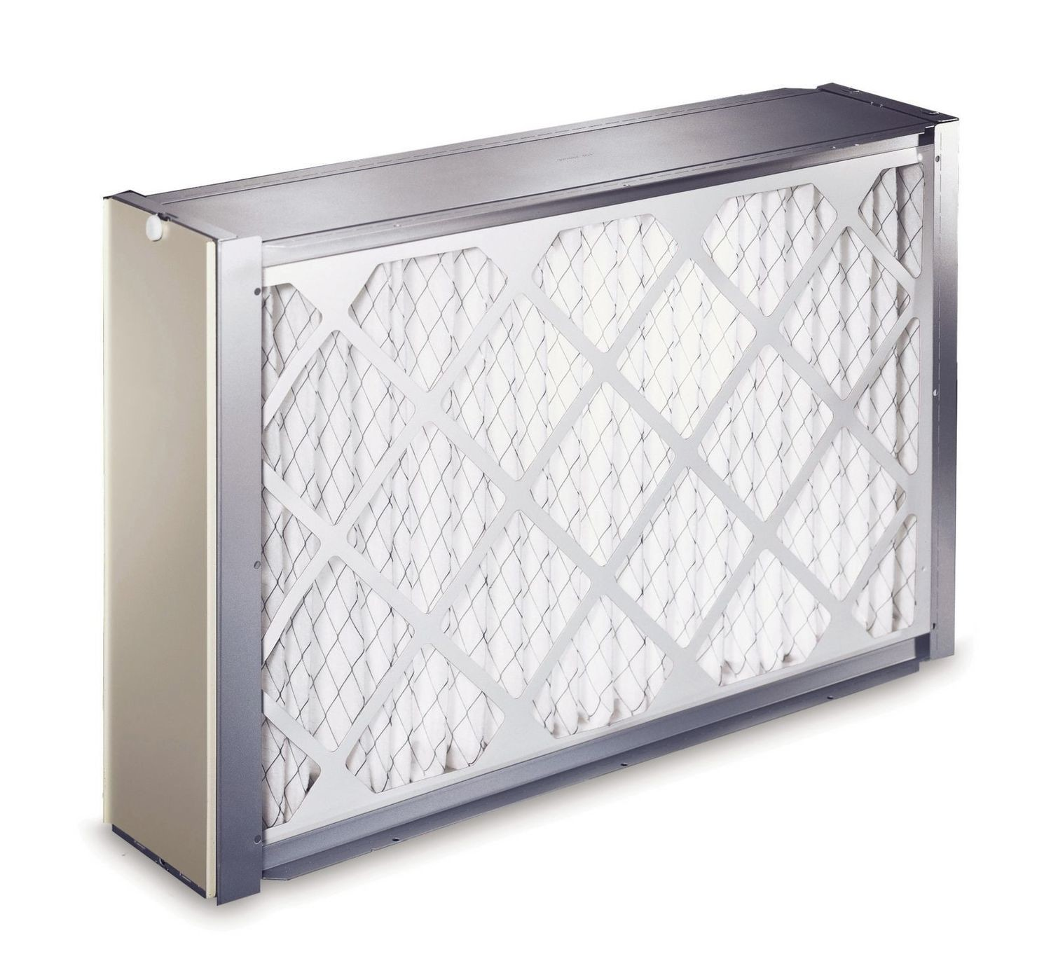 """FILCABXL0016 16"""" x 25"""" Mechanical Air Cleaner Filter Cabinet - Filters not included"""