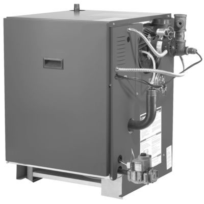 80% AFUE 75000 Btuh Gas-Fired Hot Water Boiler With Installation