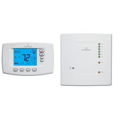 Emerson - Blue Wireless Easy Install Thermostat