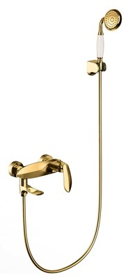 Wall Mounted Bathtub Brass Shower Mixer