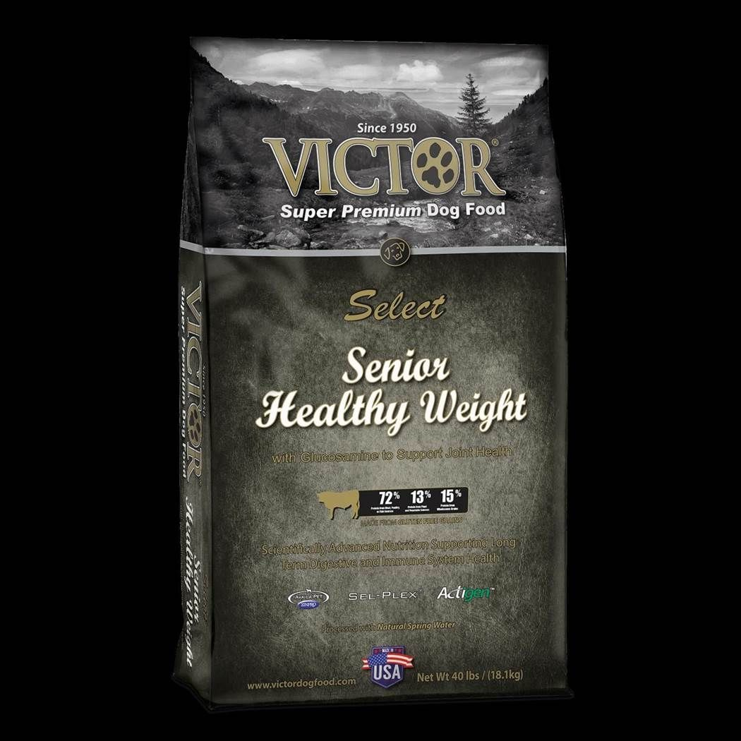 Victor Senior Healthy Weight Formula Dry Dog Food 15lbs 00002