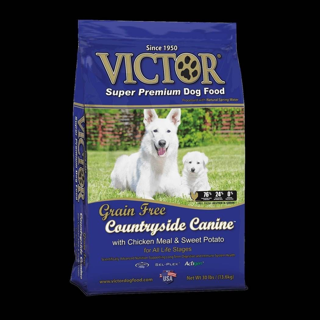 Victor Countryside Canine w/ Chicken Meal and Sweet Potato Formula Dry Dog Food 5lbs 00006