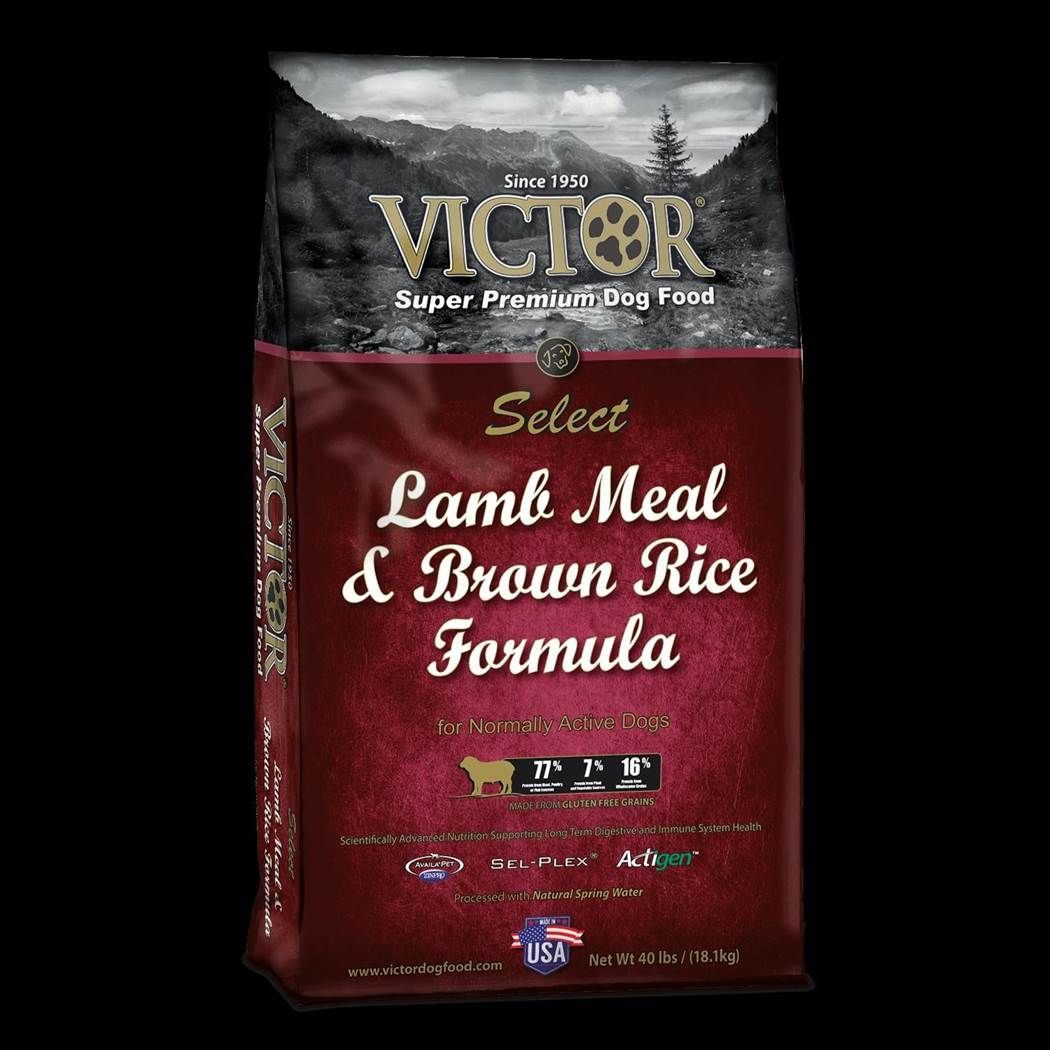 Victor Select Lamb Meal and Brown Rice Formula Dry Dog Food 5lbs-40lbs 00009