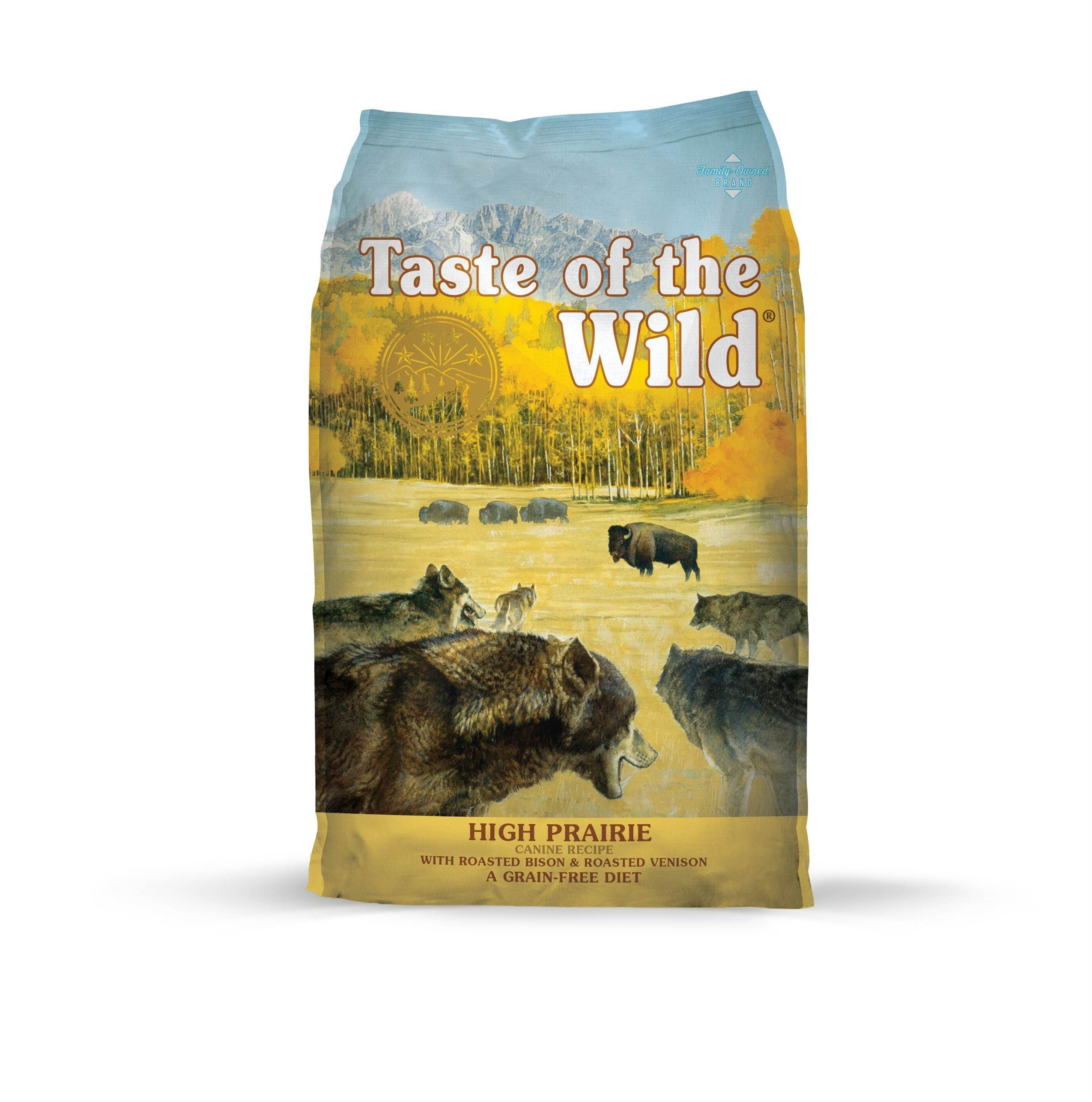 Taste of the Wild High Prairie with Roasted Bison and Roasted Venison Formula Dry Dog Food 5lbs-28lbs 00013