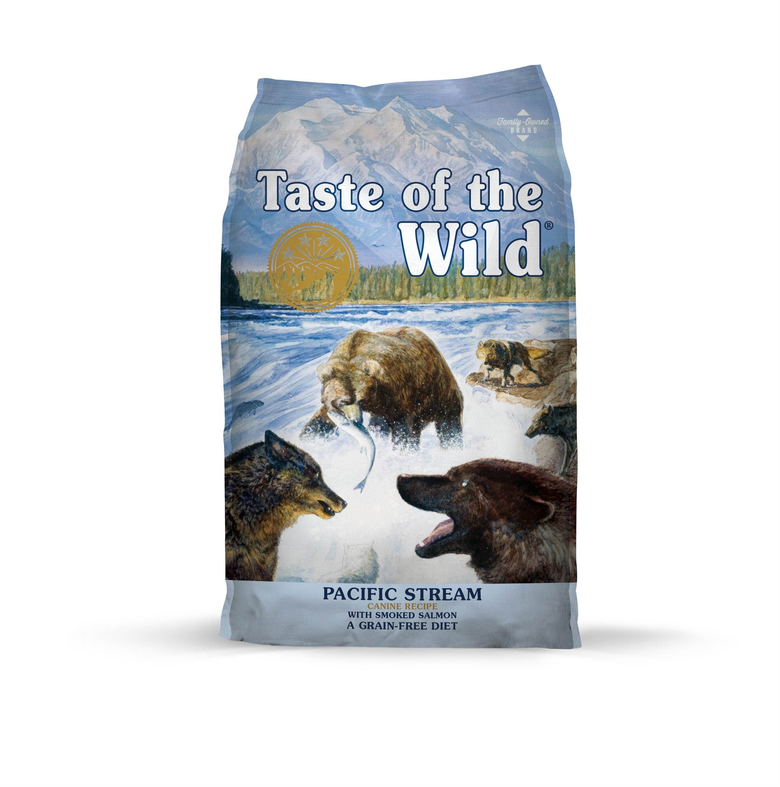 Taste of the Wild Pacific Stream with Smoked Salmon Formula Dry Dog Food 5lbs-28lbs 00015