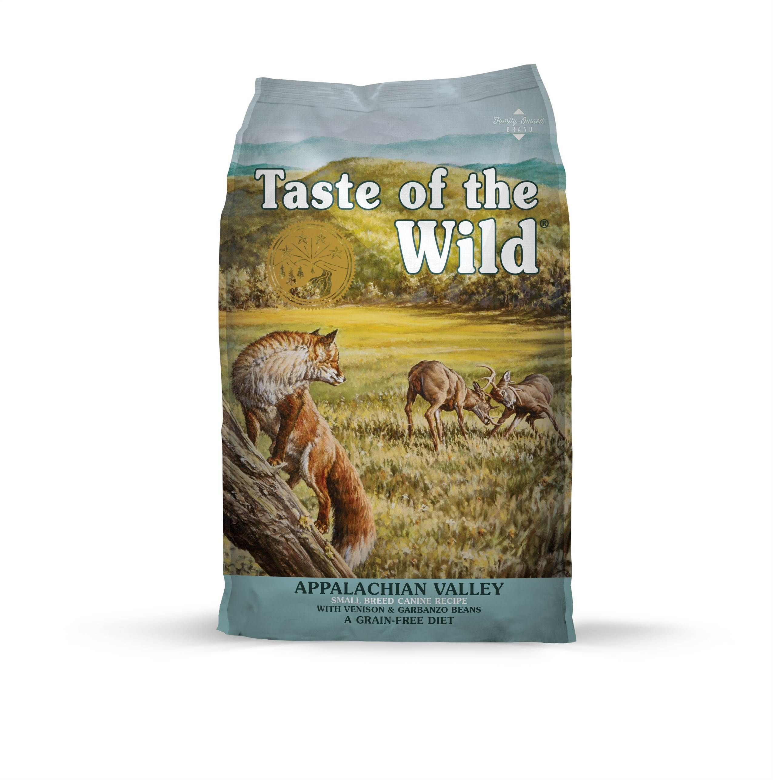 Taste of the Wild with Appalachian Valley Small Breed Venison and Garbanzo beans Formula Dry Dog Food 5lbs-30lbs 00017