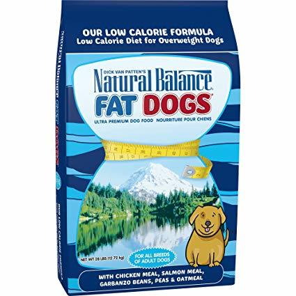 Natural Balance Fat Dogs with Chicken Meal and Salmon meal Formula Dry Dog Food 5lbs-28lbs 00026