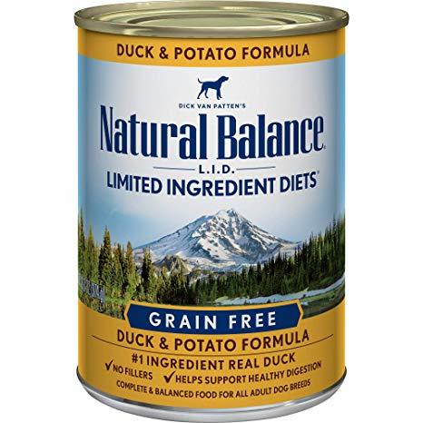 Natural Balance LID with Duck and Potato Formula Canned Dog Food 13oz 00027