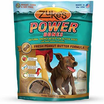 Zuke's Power Bones Peanut Butter 6oz 00040