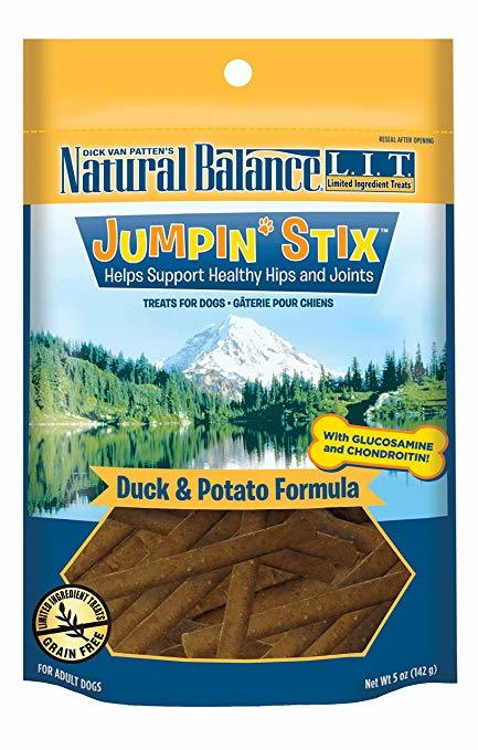 Natural Balance Jump Stix Duck and Potato 4oz-5oz 00041