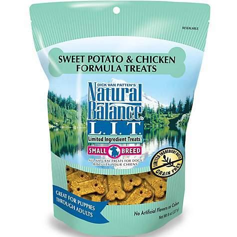 Natural Balance LIT Small Breed Sweet Potato and Chicken 8oz-14oz 00045