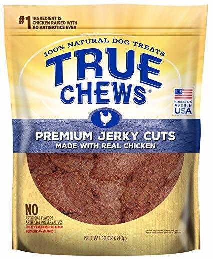 True Chews Premium Jerky Chicken 4oz-22oz 00049