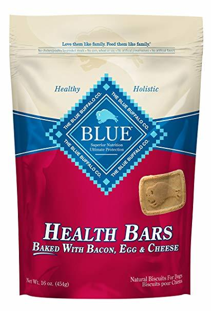 Blue Buffalo Health Bars Bacon, Egg, and Cheese 16oz 00052