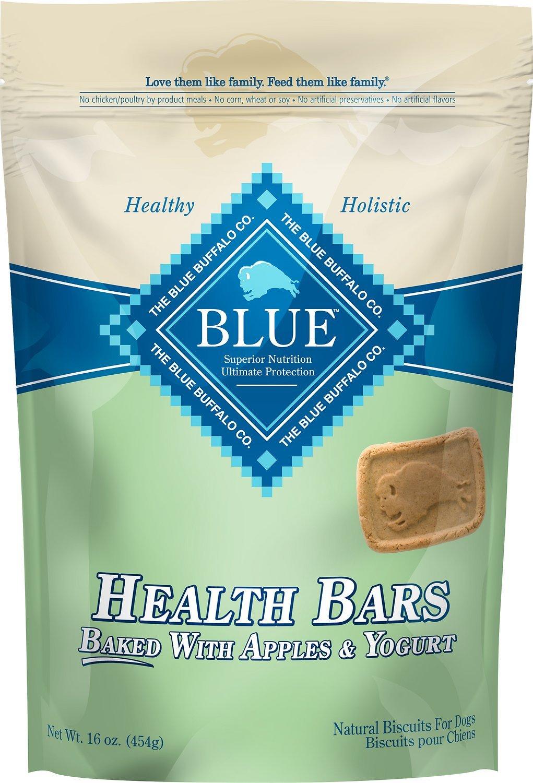 Blue Buffalo Health Bars Baked Apple with Yogurt 16oz 00053