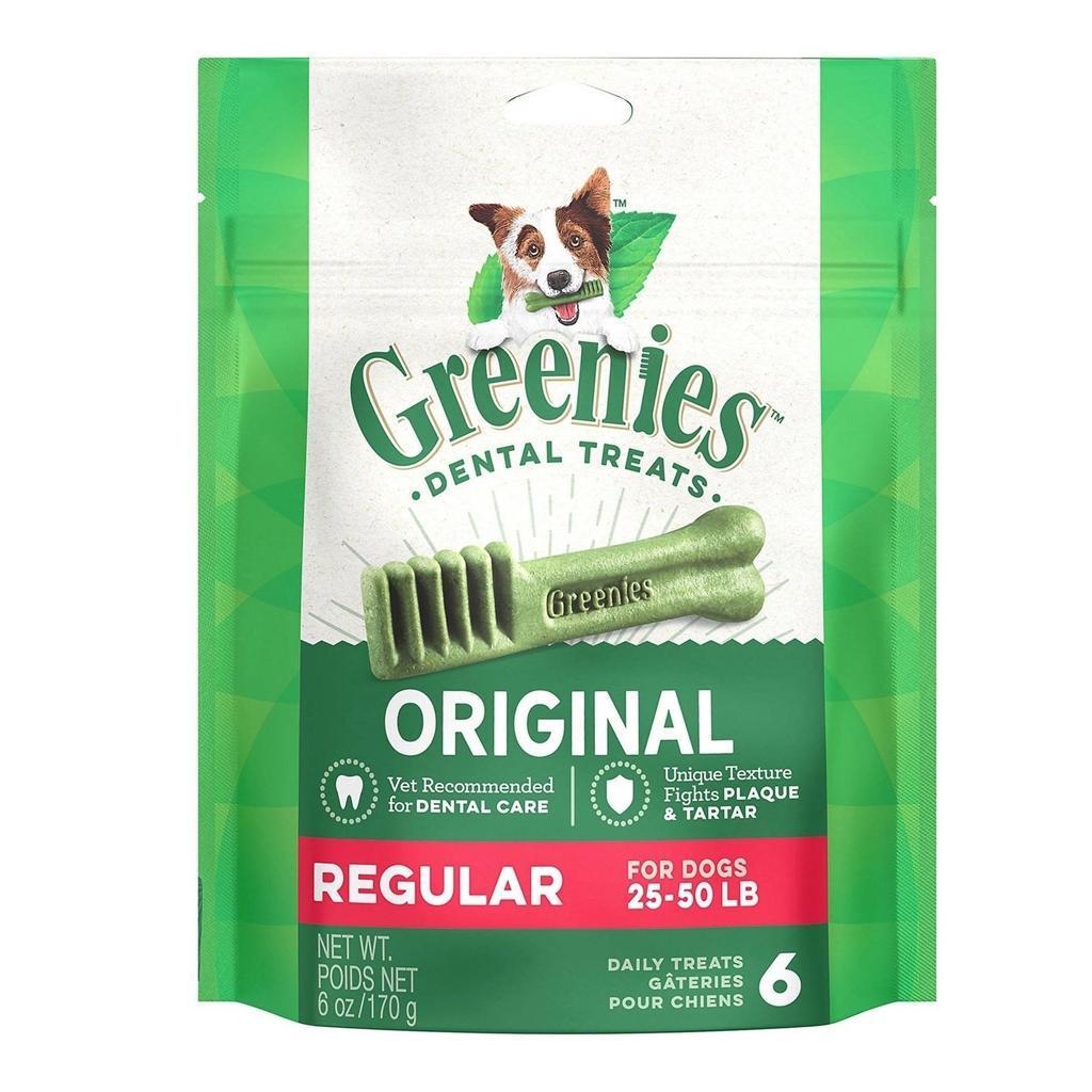 Greenies Fresh Regular for dogs 25lbs to 50lbs 3oz 00055