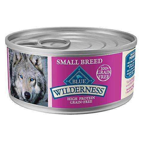 Blue Buffalo Blue Wilderness Small Breed Turkey and Chicken Formula Canned Dog Food 5.5oz 00073