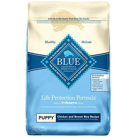 Blue Buffalo Life Protection Formula Puppy Chicken and Rice Formula Dry Dog Food 6lbs 00079