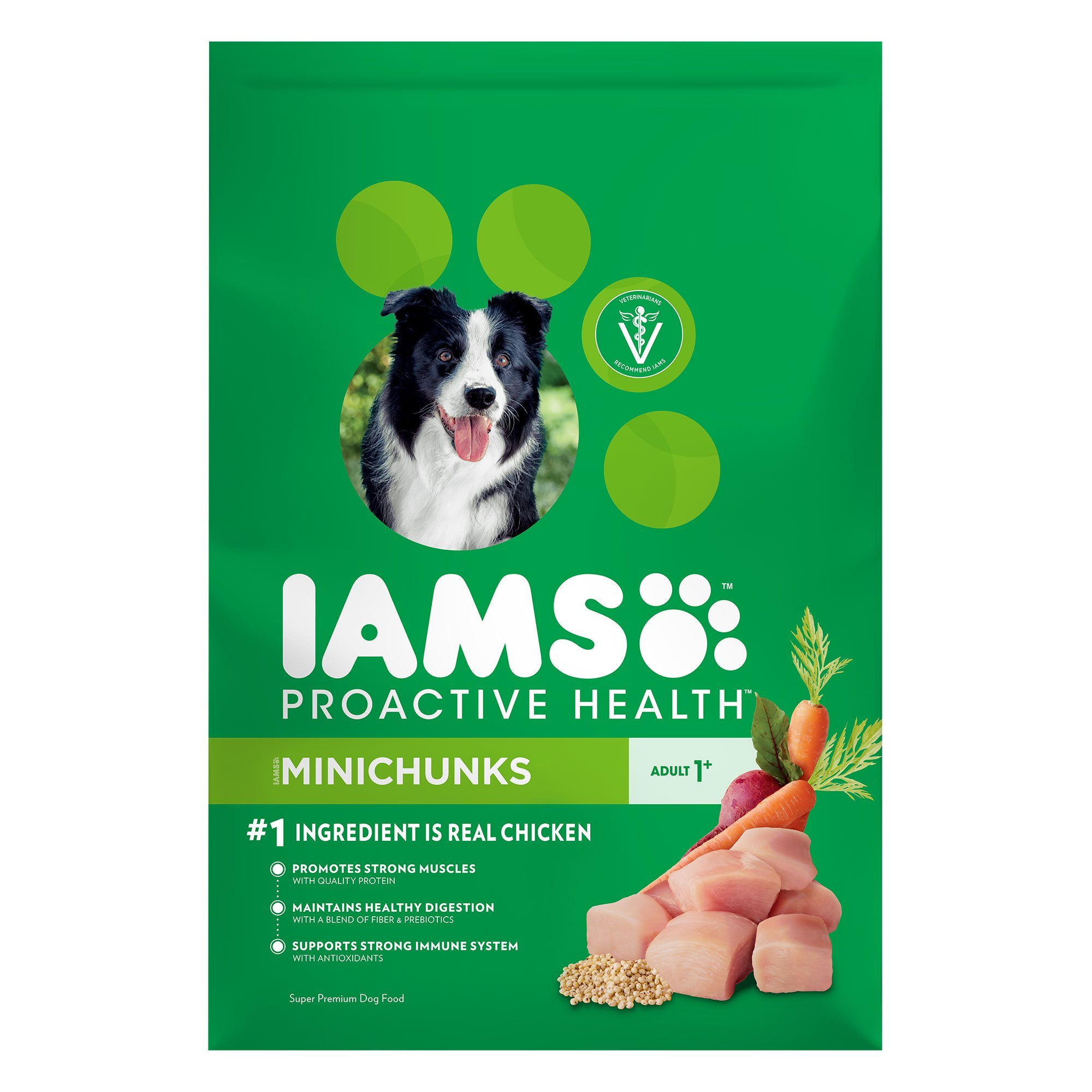 Iams Proactive Health Minichunks Adult with Chicken Formula Dry Dog Food 7lbs 00089