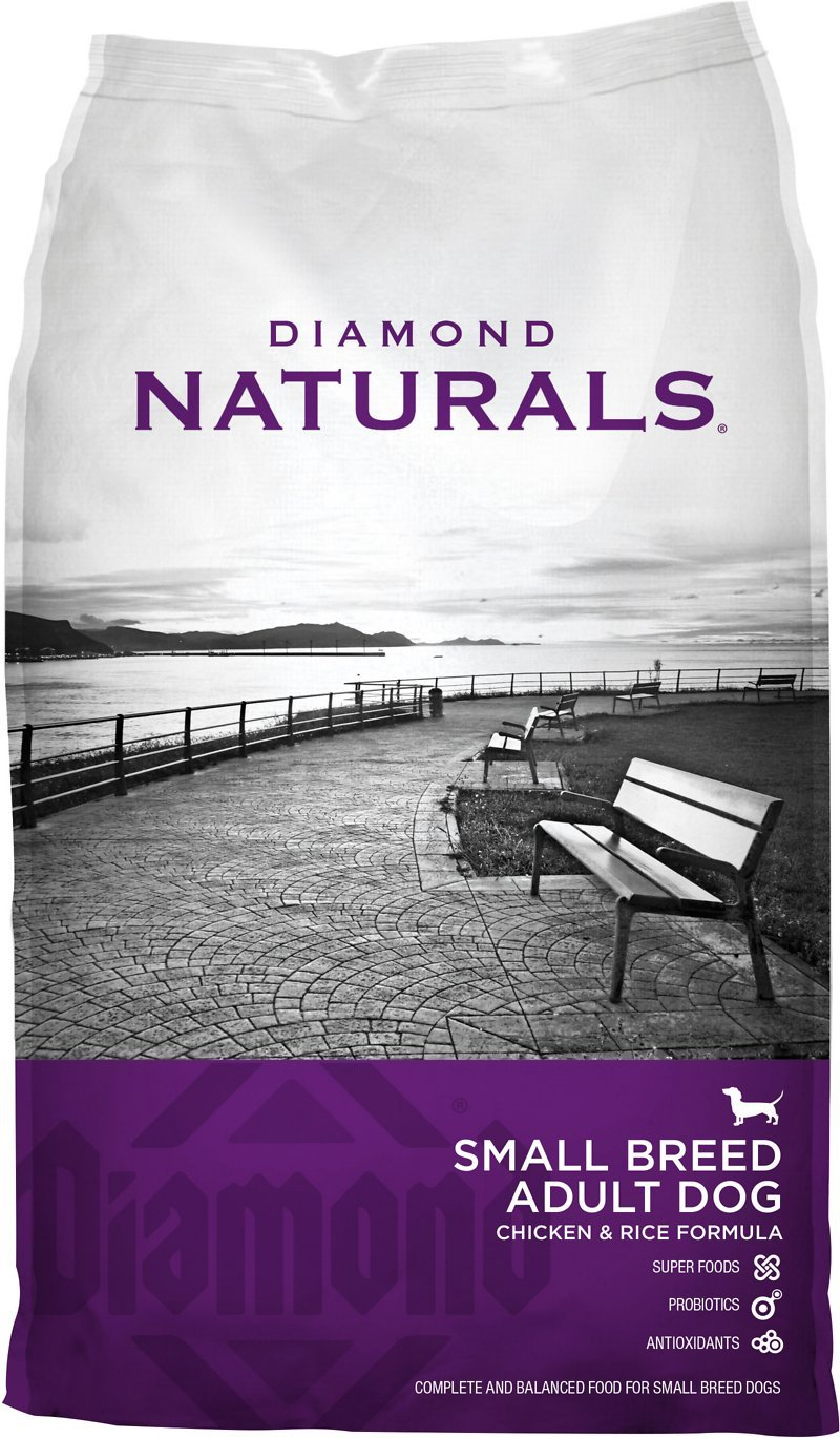 Diamond Naturals Small Breed Adult Lamb and Rice Formula Dry Dog Food 6lbs 00098