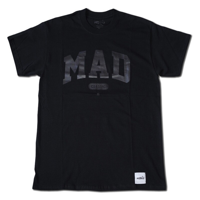 MAD Classic Blk/Blk Tee