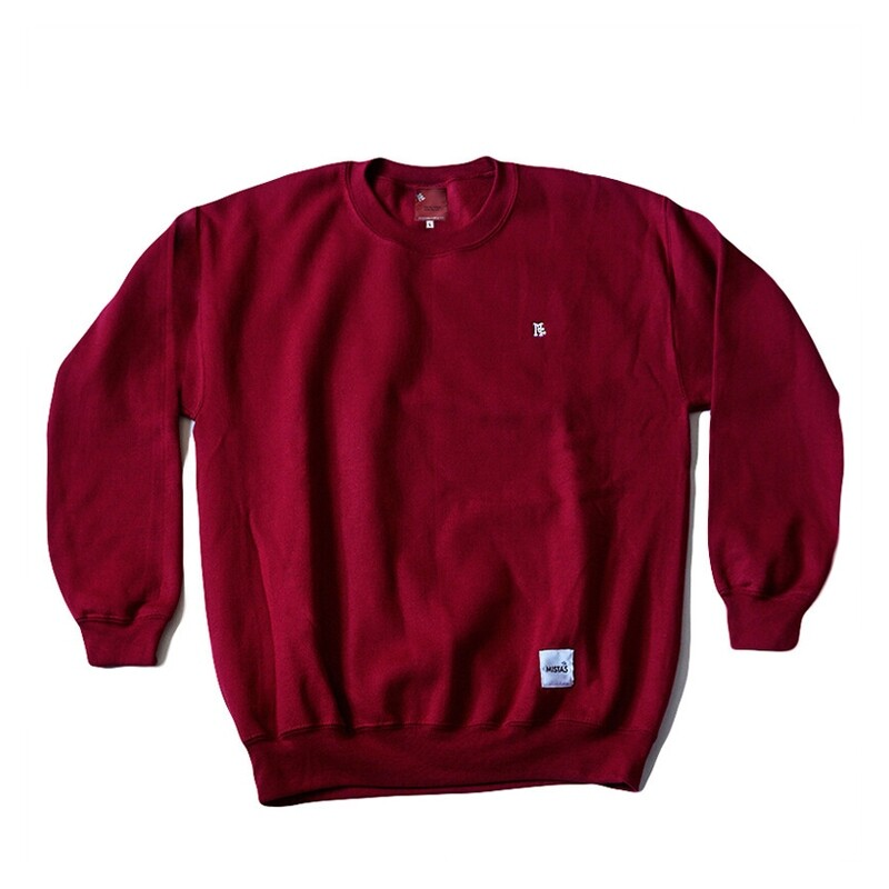 Mc Embroidered Crewneck