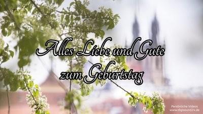 Geburtstag Video - Original Melodie (Klassik Walzer)