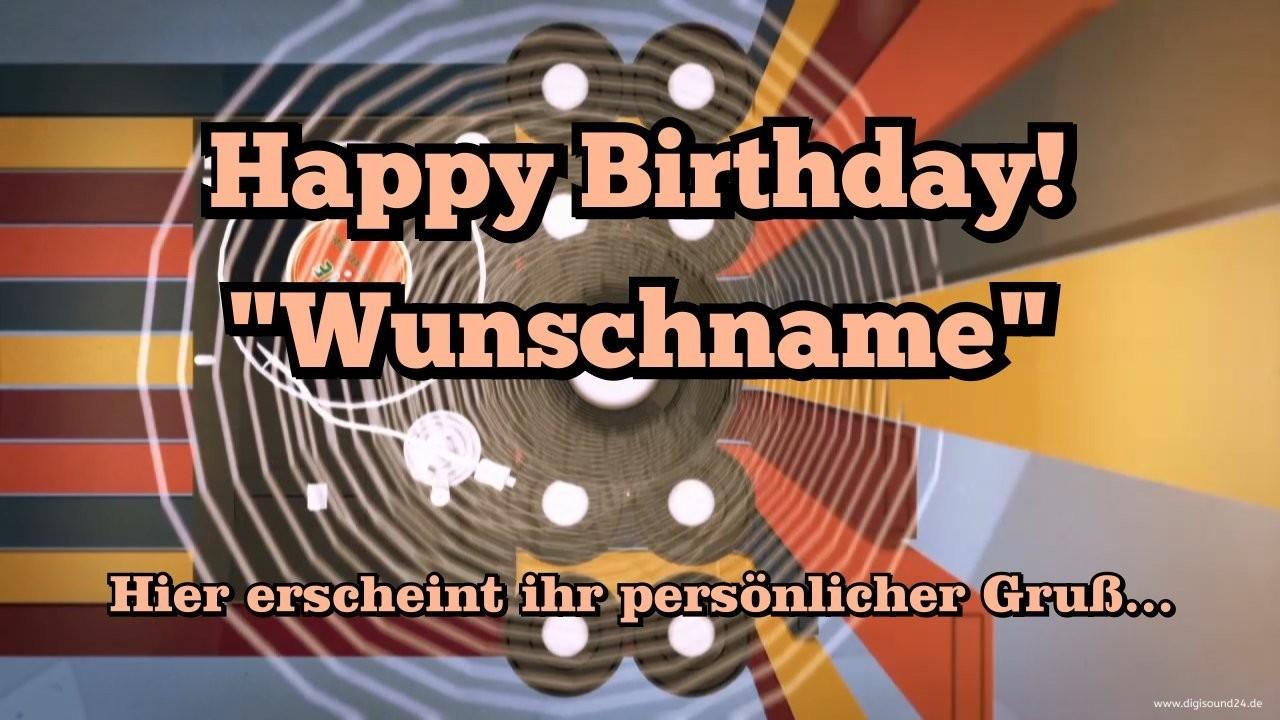 Geburtstag Video -Happy Birthday (60`s)