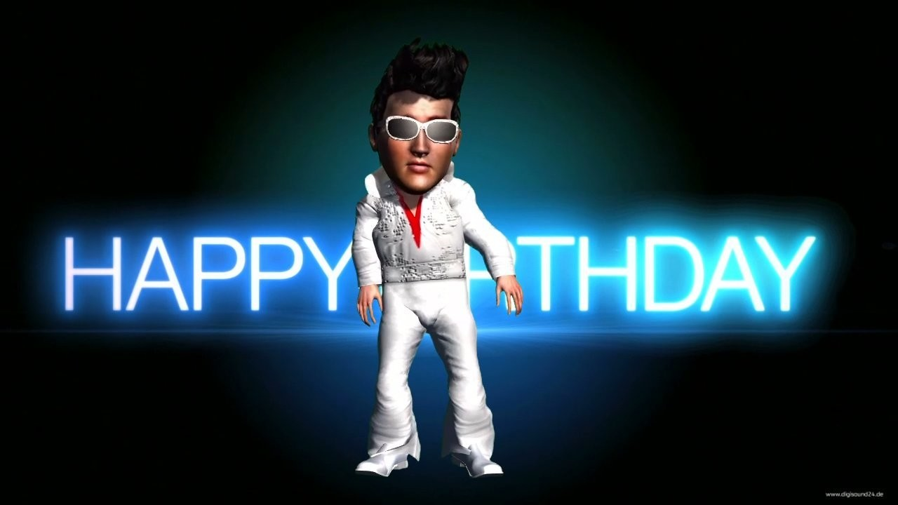 Happy Birthday - Elvis (Original Melodie)