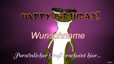 Geburtstag Video - Froggy Rock