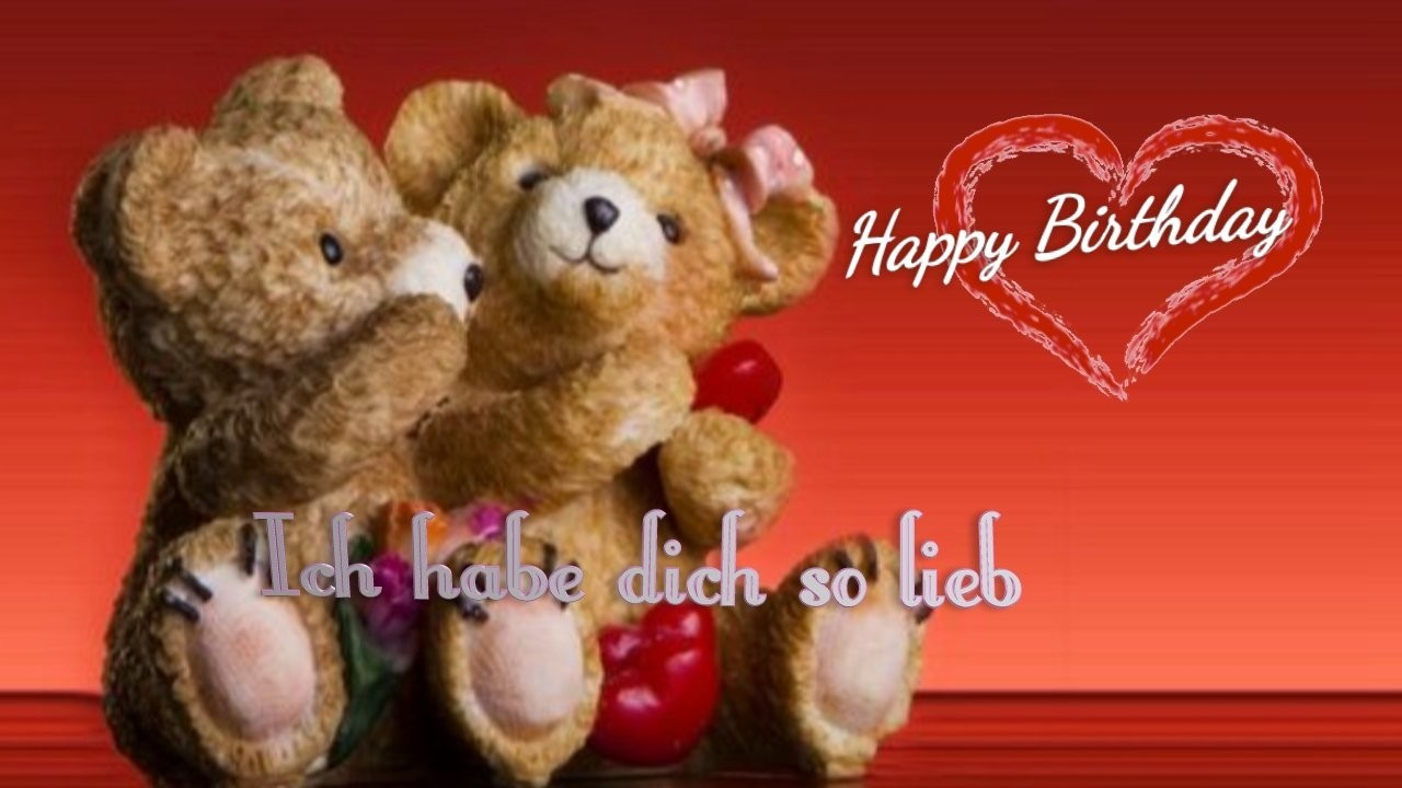 Geburtstag Video -Happy Happy Birthday (Dance - romantisch)