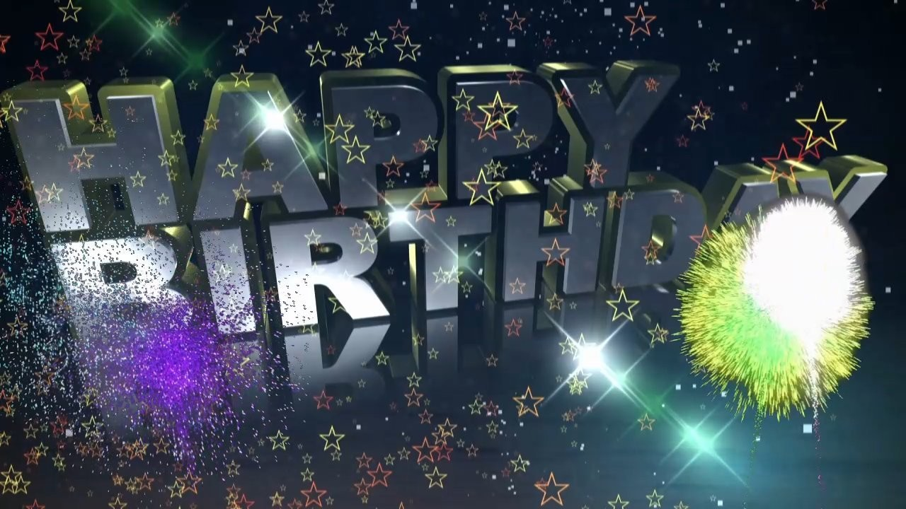 Geburtstag Video - Happy Birthday to You (Future Pop)