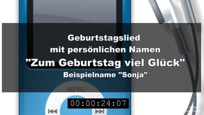 Geburtstagslied - Zum Geburtstag viel Glück (Original-Melodie)