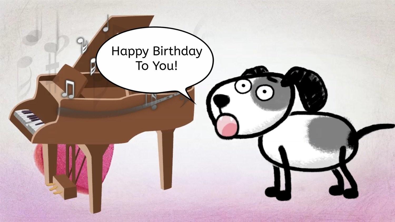 Geburtstag Video - Doggy
