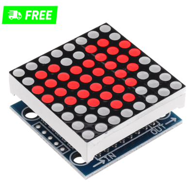 LED 8x8 matrix display