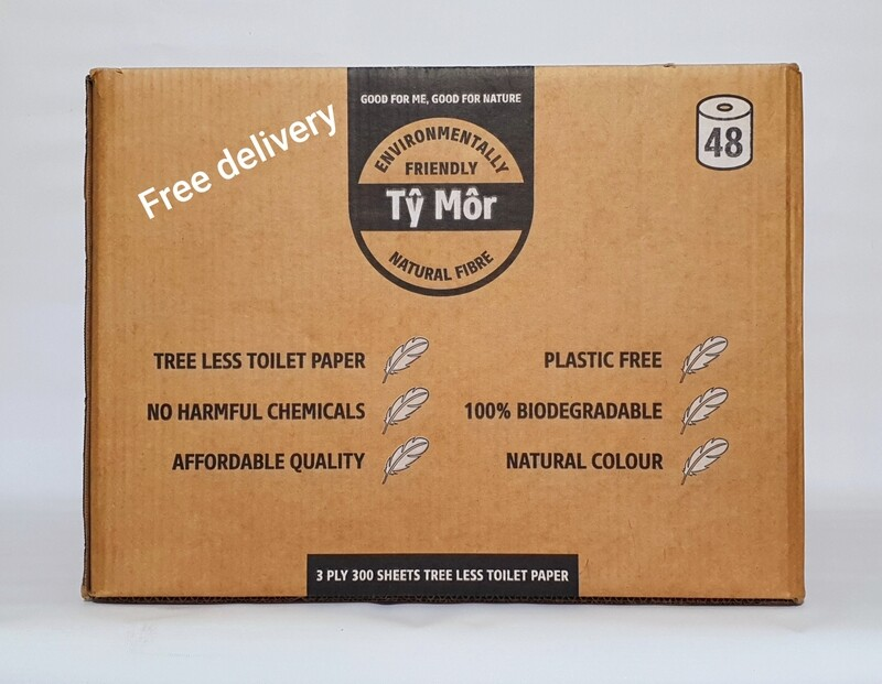 Free Delivery: Tŷ Môr Toilet Paper 48 roll