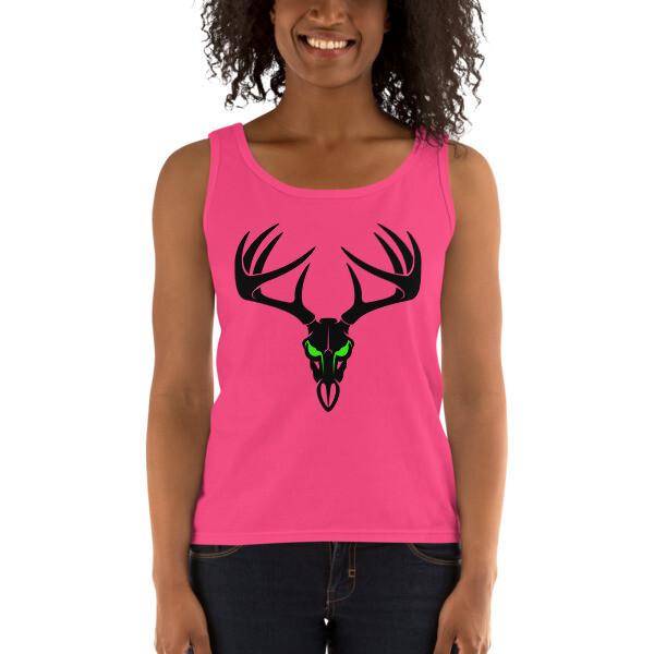 Deer Skull Ladies' Tank