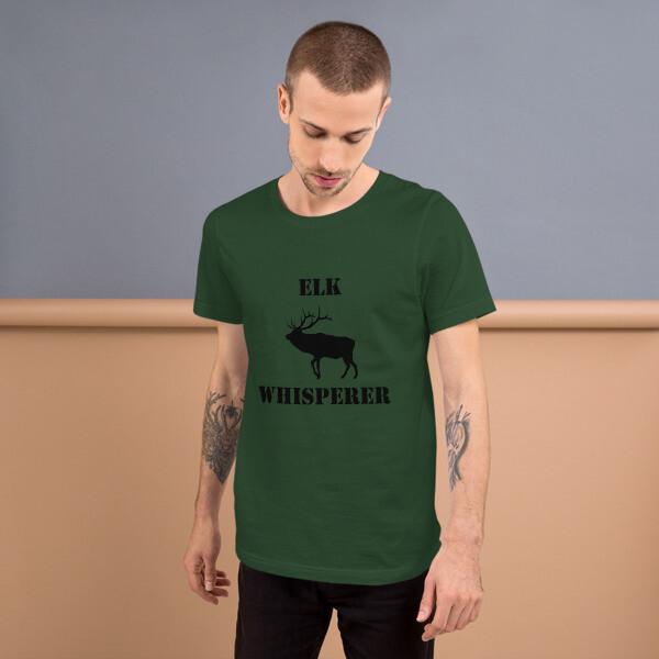 Elk Whisperer Short-Sleeve Mens T-Shirt