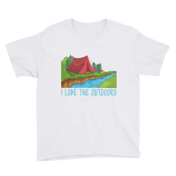Outdoors Youth Short Sleeve T-Shirt