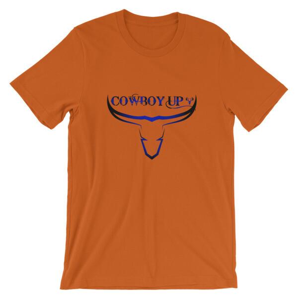 Cowboy Up Short-Sleeve Unisex T-Shirt