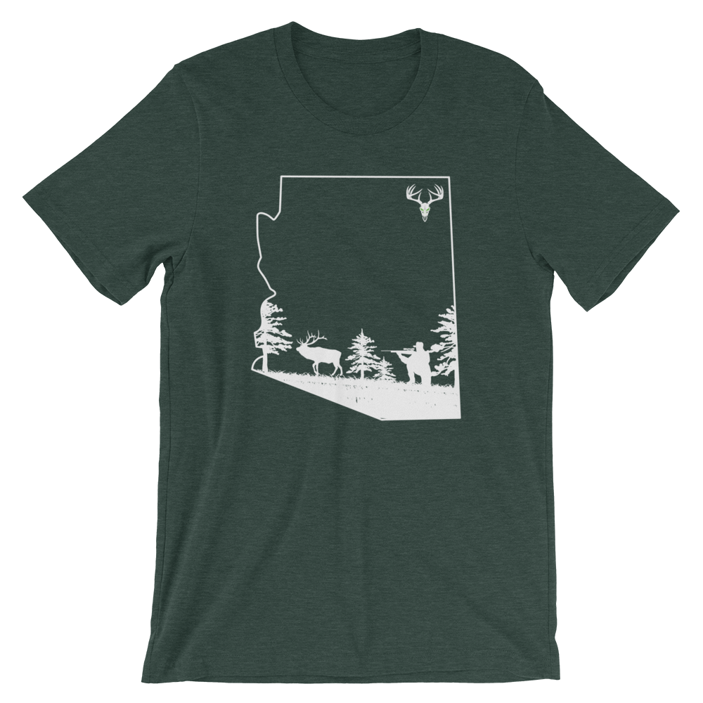 AZ Elk Short-Sleeve Unisex T-Shirt