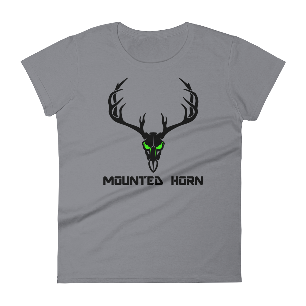 Mule Deer Skull Women's short sleeve t-shirt